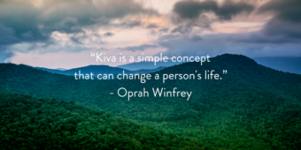 Looking for a way to give back this holiday season? Join Thrive and Kiva!