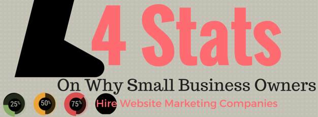 4 Stats Tell Why Small Business Owners Hire Website Marketing Companies Final (1)
