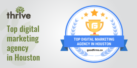 Thrive recognized as one of the robust digital service providers at GoodFirms