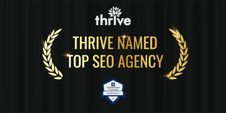 TopDevelopers named Thrive Top SEO Agency of 2019