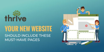 Ready to start your website? Be sure to include these must-have pages