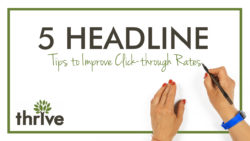 Headline tips to improved CTR