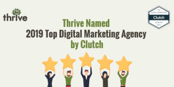 Thrive Honored as Top SEO Company by Clutch