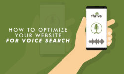 Optimize website for voice search