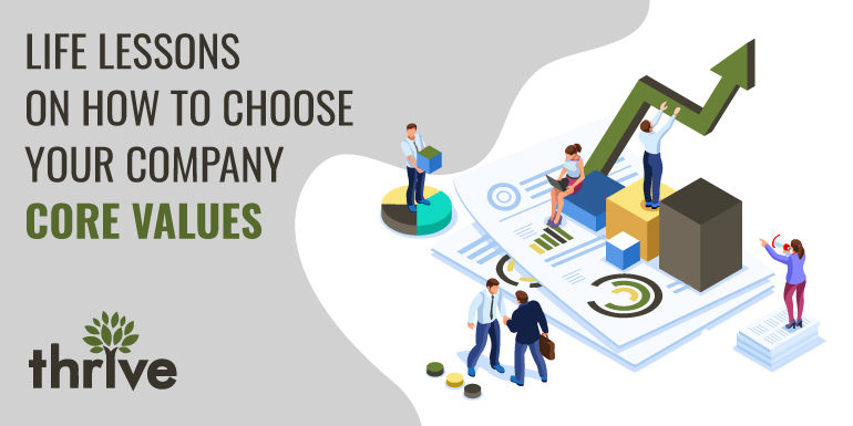 Life lessons to choose company core values