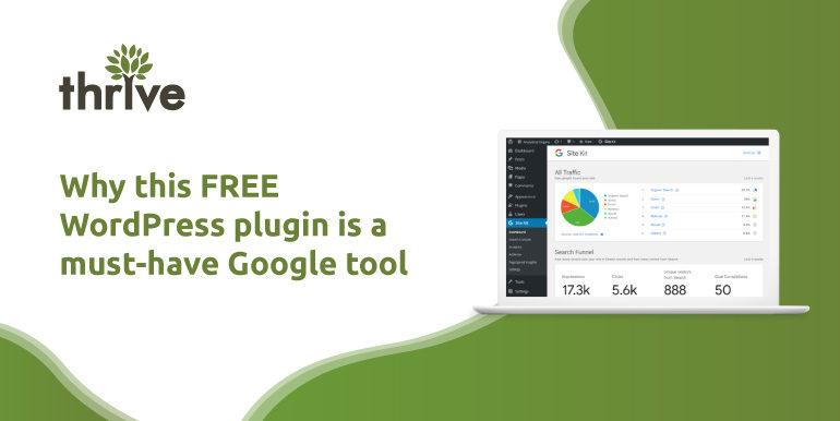 Google Site Kit WordPress plugin illustration