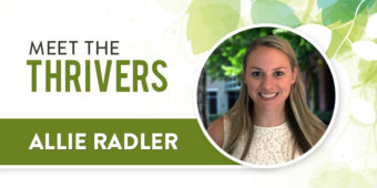Meet The Thrivers: Allie Radler
