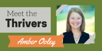 Meet the Thrivers: Amber Ooley