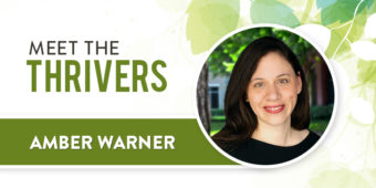 Meet The Thrivers: Amber Warner