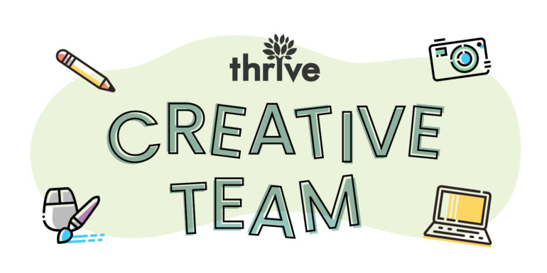 Creative team at Thrive