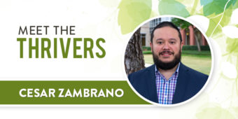 Meet the Thrivers: Cesar Zambrano