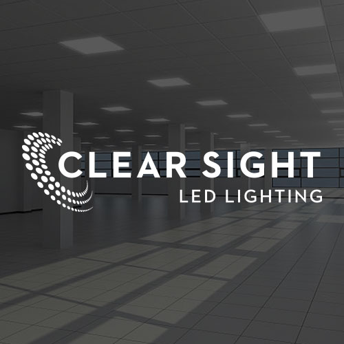 Clear Sight LED Lighting logo Design