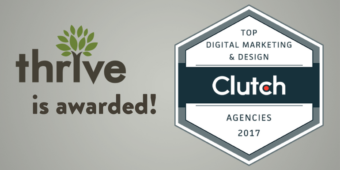 Thrive Named Top Digital Marketing & Design Agency of 2017