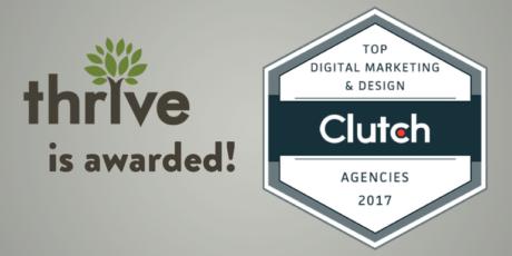 Clutch Award for being top Digital Marketing 2017