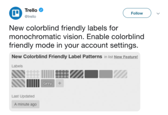 Color-friendly labels