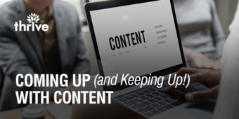 Coming up (and keeping up) with social media content