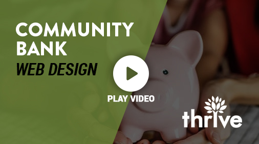 """Community Bank Web Design Services"