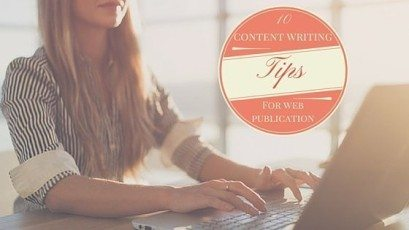 Tips About Content Writing For Web Publications