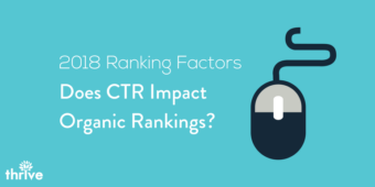 ctr organic rankings factor
