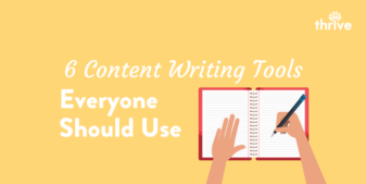 6 Content Writing Tools Everyone Should Be Using