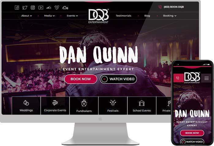 DQB entertainment website