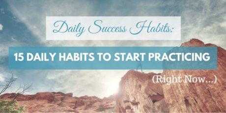 15 daily habits