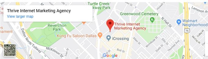 Dallas Thrive office location