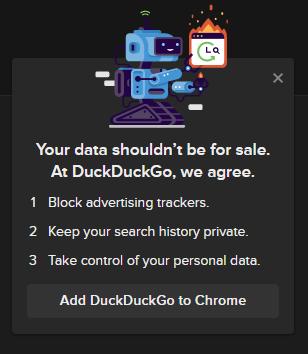 DuckDuckGo Data Policy