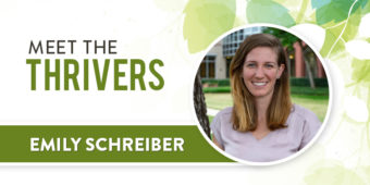 Meet the Thrivers: Emily Schreiber