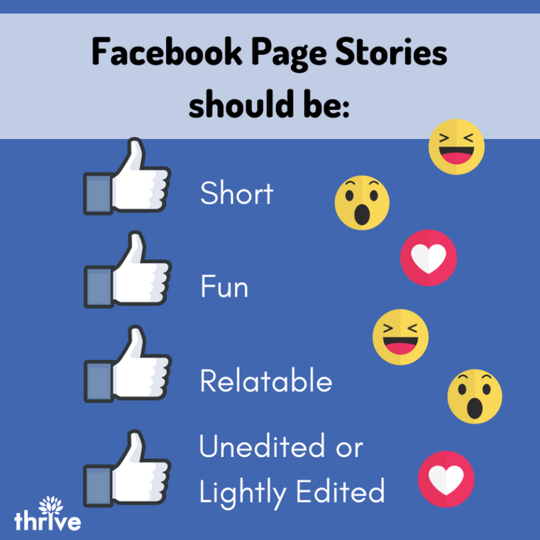 Facebook Page Stories
