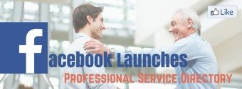 Facebook service for businesses