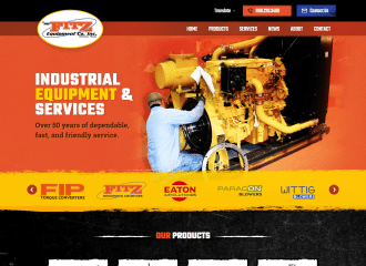 Fitz Equipment Manufacturing new website