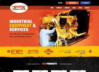 Fitz Equipment Manufacturing new website