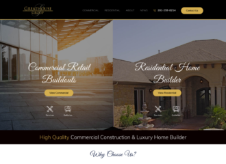 home builder web design company