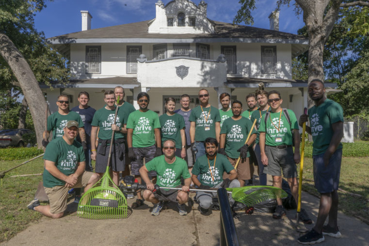 Thrive Gives Back Landscaping Group
