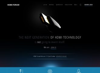 HDMI Forum Website Design
