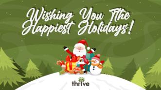 Happy Holidays from Thrive Internet Marketing Agency