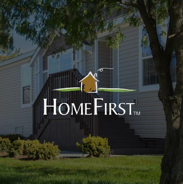 HomeFirst manufactured homes website design