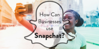 How can businesses use Snapchat?