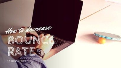 Learn how to decrease bounce rate