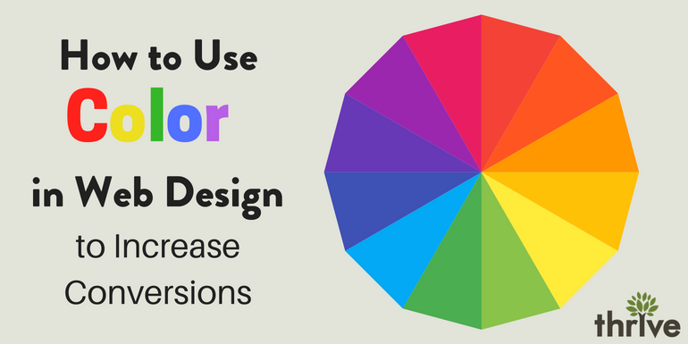 How to Use Color in Web Design to Increase Conversions