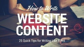 How to write content | 25 Tips from Pros