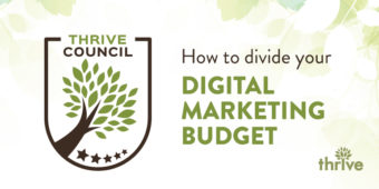 How to divide your digital marketing budget