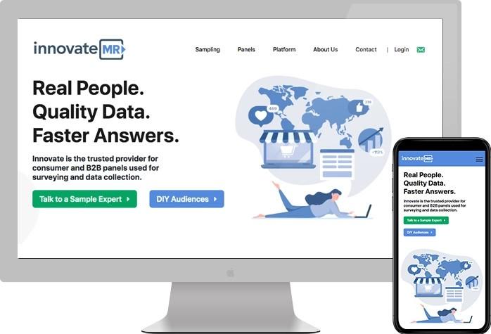 Innovate MR website preview