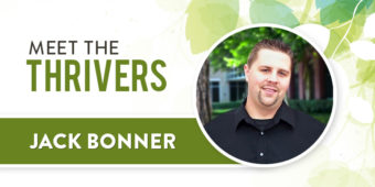 Meet The Thrivers: Jack Bonner