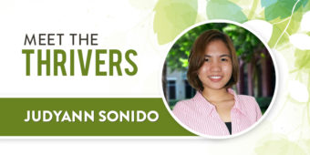 Meet The Thrivers: Judyann Sonido