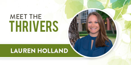 Meet the Thrivers: Lauren Holland