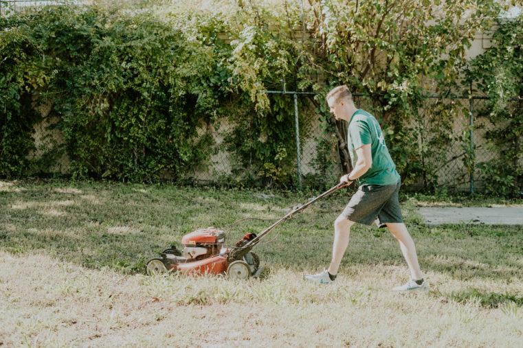 Thrive Gives Back Cornerstone Yard Work
