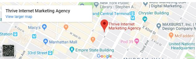 Manhattan Thrive office location