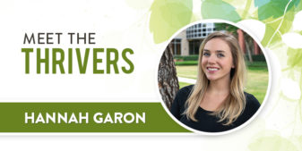 Meet the Thrivers: Hannah Garon